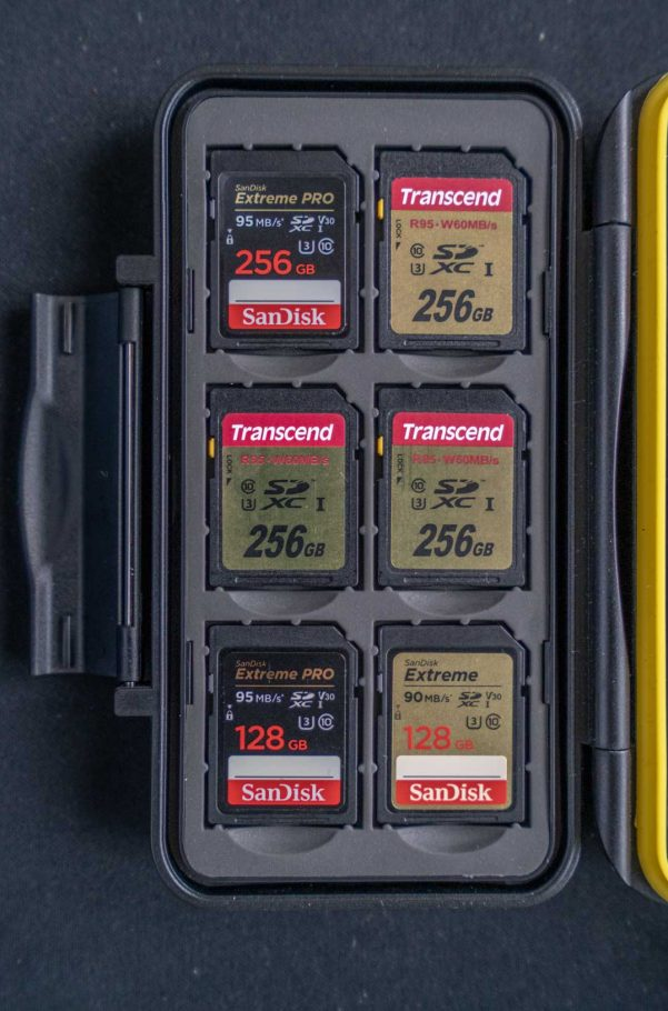 超2TB SD卡-为了更好的备分及两天重度拍摄不拷卡