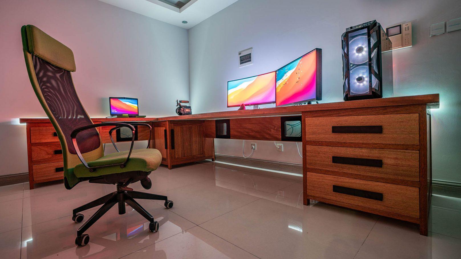 我的8K HDR工作室及调色室